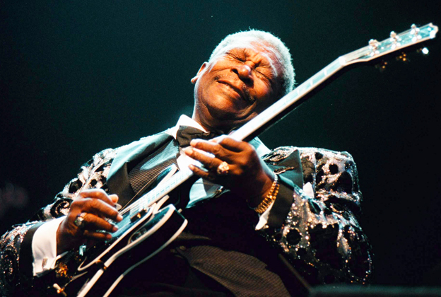 B King Performs In The Hague Netherlands