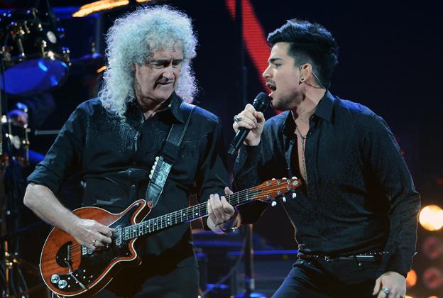 7ada6ba06c59f Queen and Adam Lambert Dominate Night One of iHeartRadio – Rolling Stone
