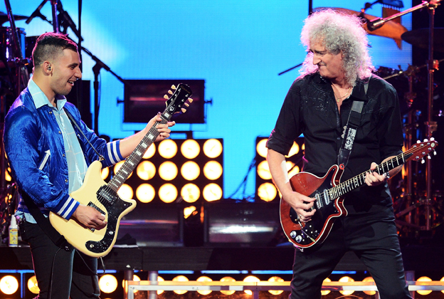 How Queen Hooked Up with Fun. at iHeartRadio
