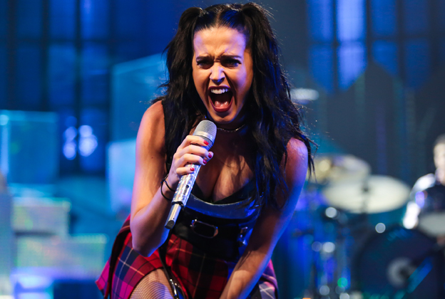 Katy Perry Plays 'Prism' Songs to Close iTunes Festival 2013