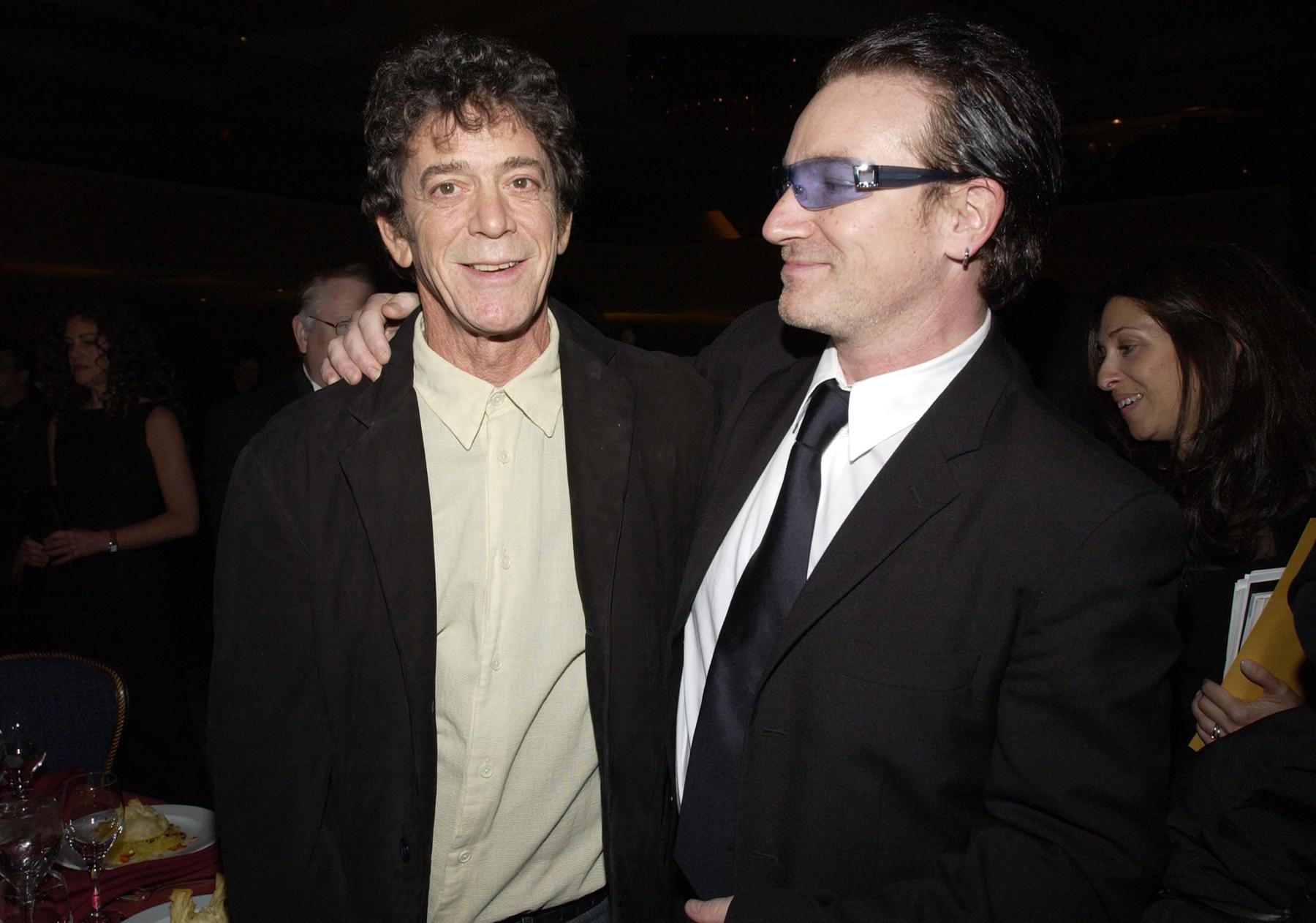 Bono Remembers Lou Reed's 'Perfect Noise'