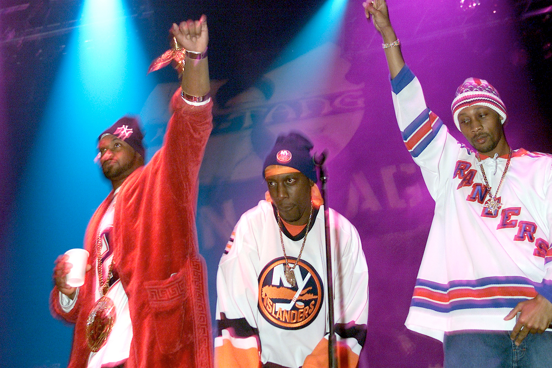 474d7f5d Ghostface Killah, Inspecta Deck and RZA of the Wu-Tang Clan performs in New
