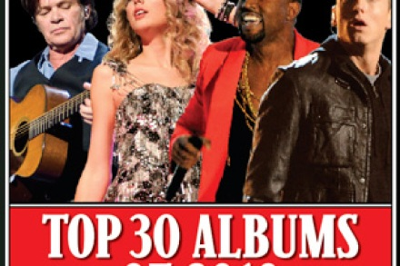 30 Best Albums of 2010 – Rolling Stone