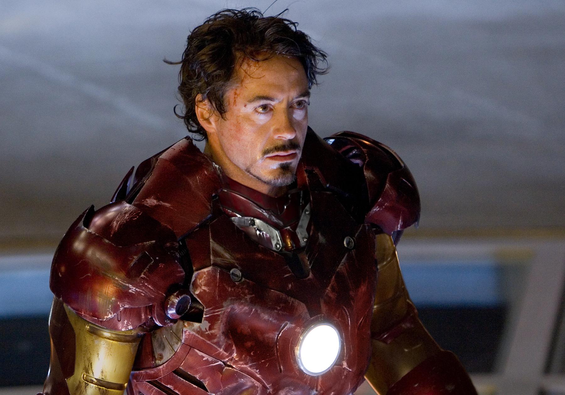 RDJ as Iron Man