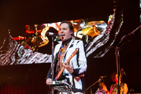 Kroq Almost Acoustic Christmas.Arcade Fire Phoenix Wrap Kroq Almost Acoustic Christmas