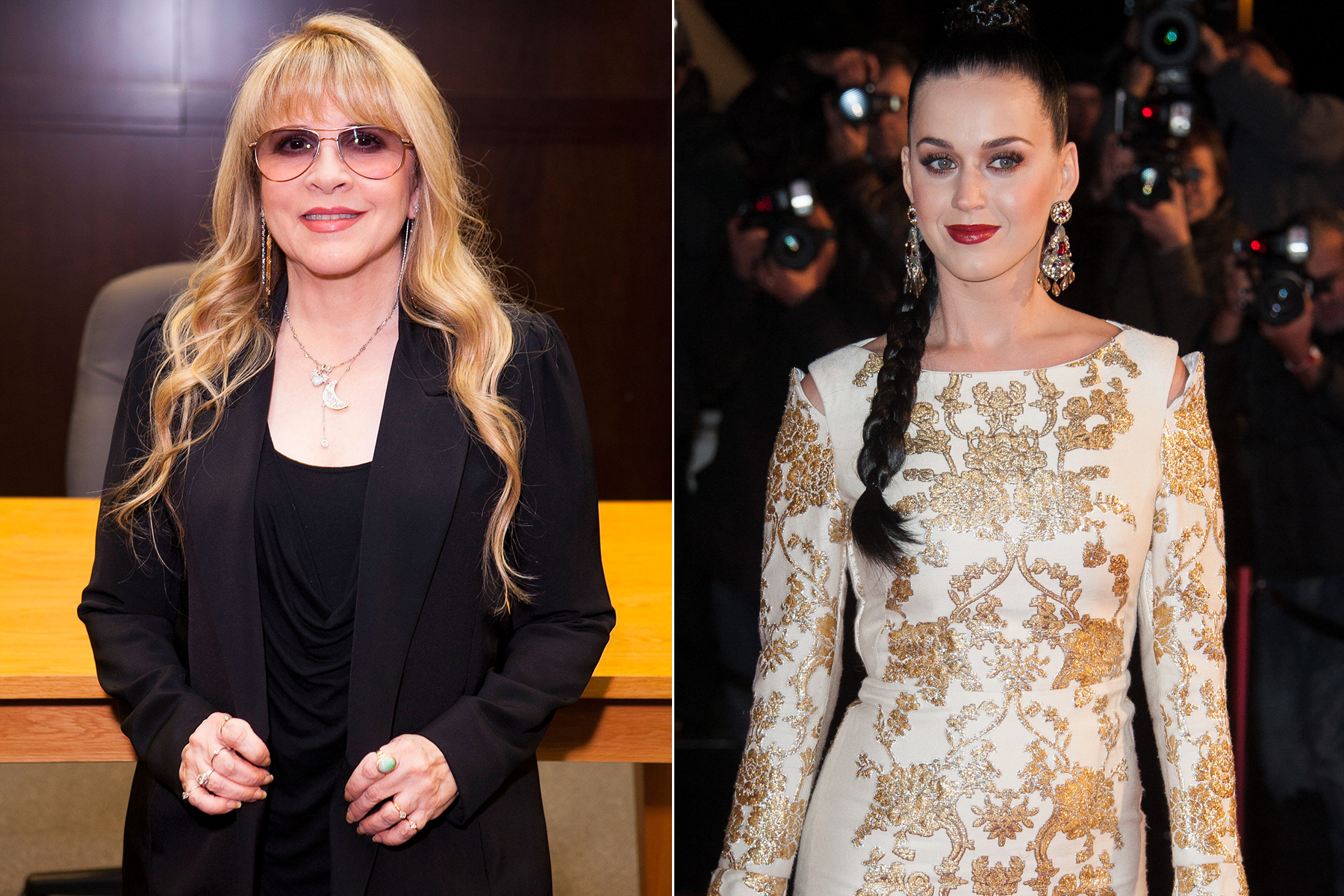 Stevie Nicks Advises Katy Perry on Her Pop Rivals