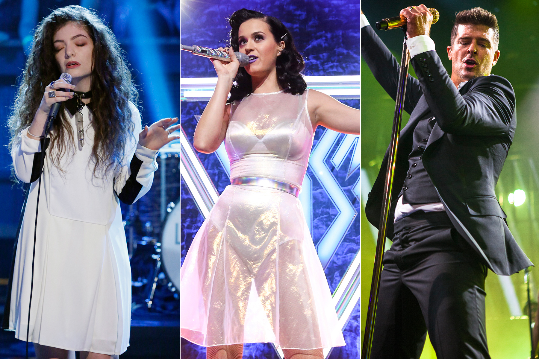 Lorde, Katy Perry, Robin Thicke Added to Grammy Awards Show
