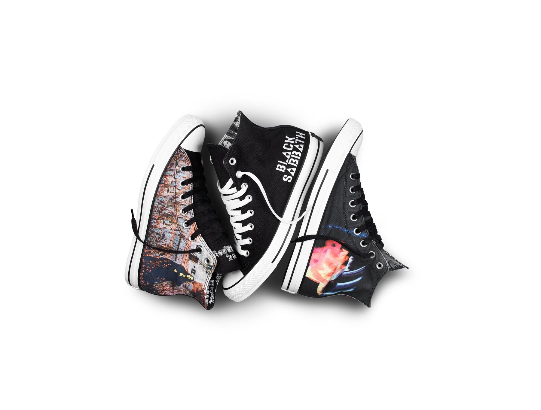 Converse Release Black Sabbath Branded Chuck Taylors