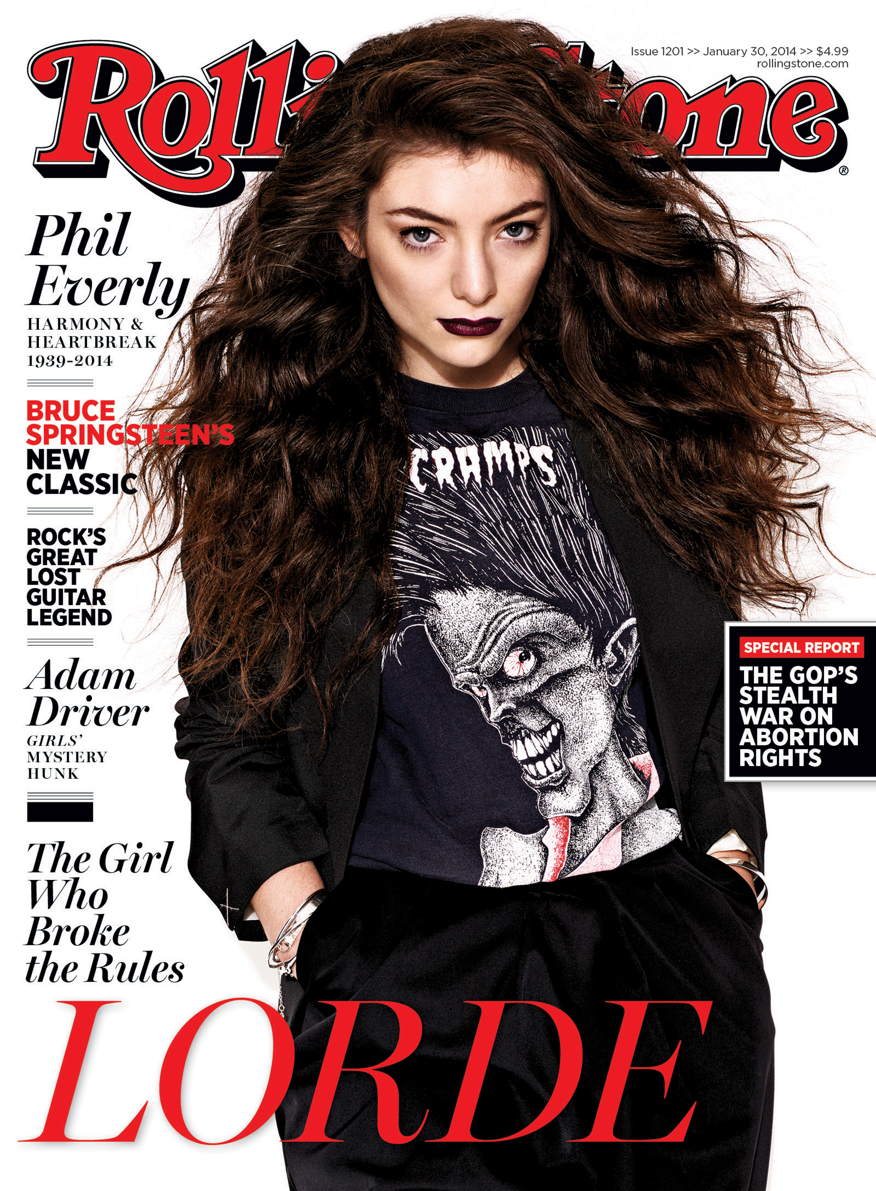 How Lorde Broke All the Rules: Inside Rolling Stone's New Issue