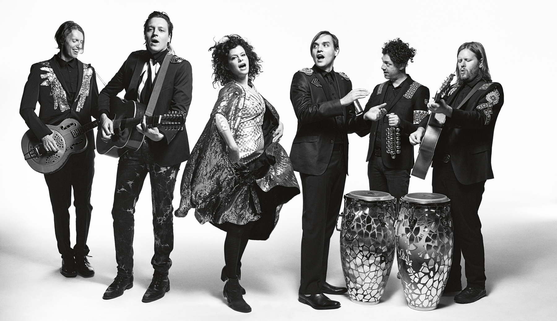 arcade fire  The Unforgettable Fire: Can Arcade Fire Be the World's Biggest Band ...