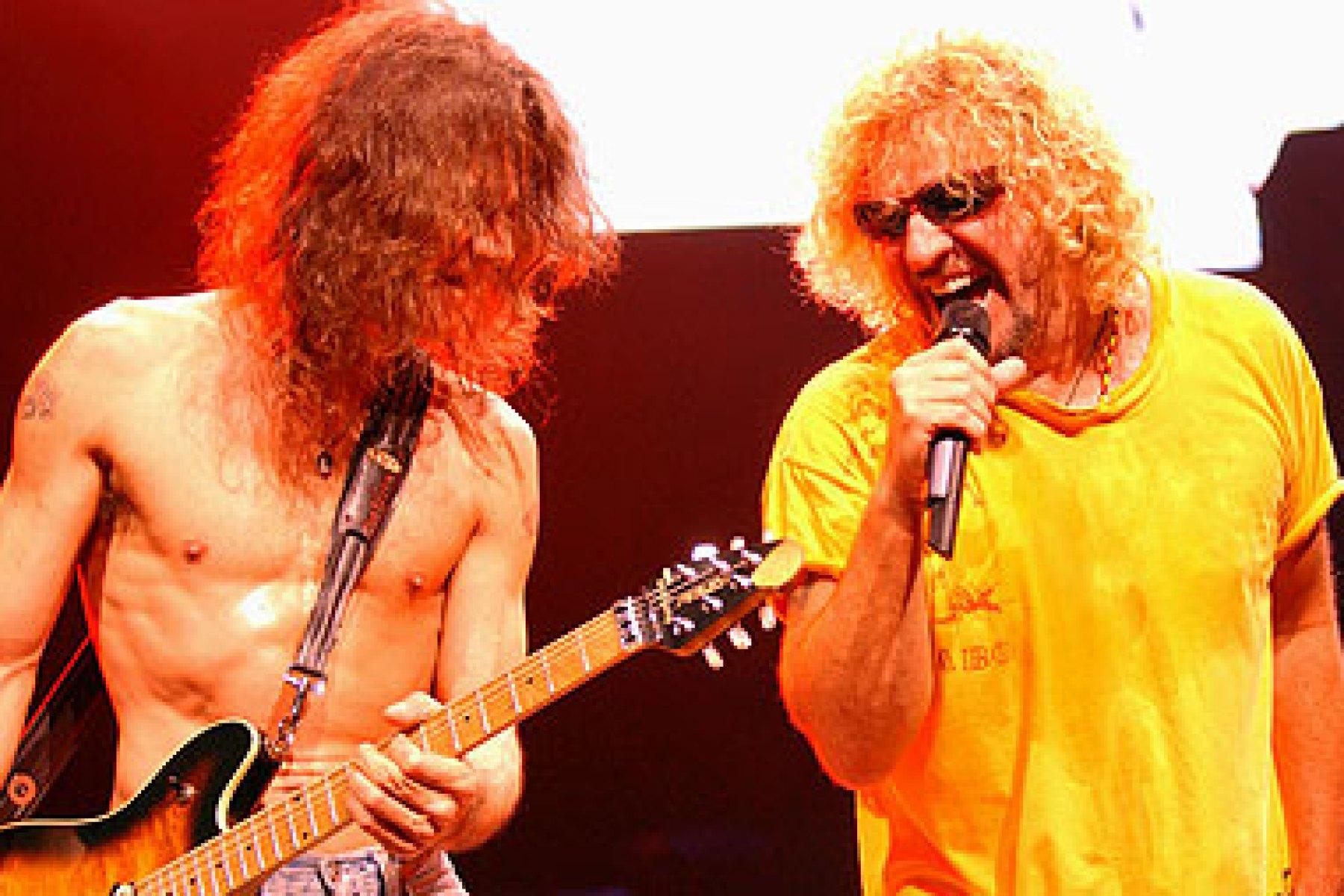 Sammy Hagar On Eddie Van Halen In New Memoir What A Fruitcake Rolling Stone