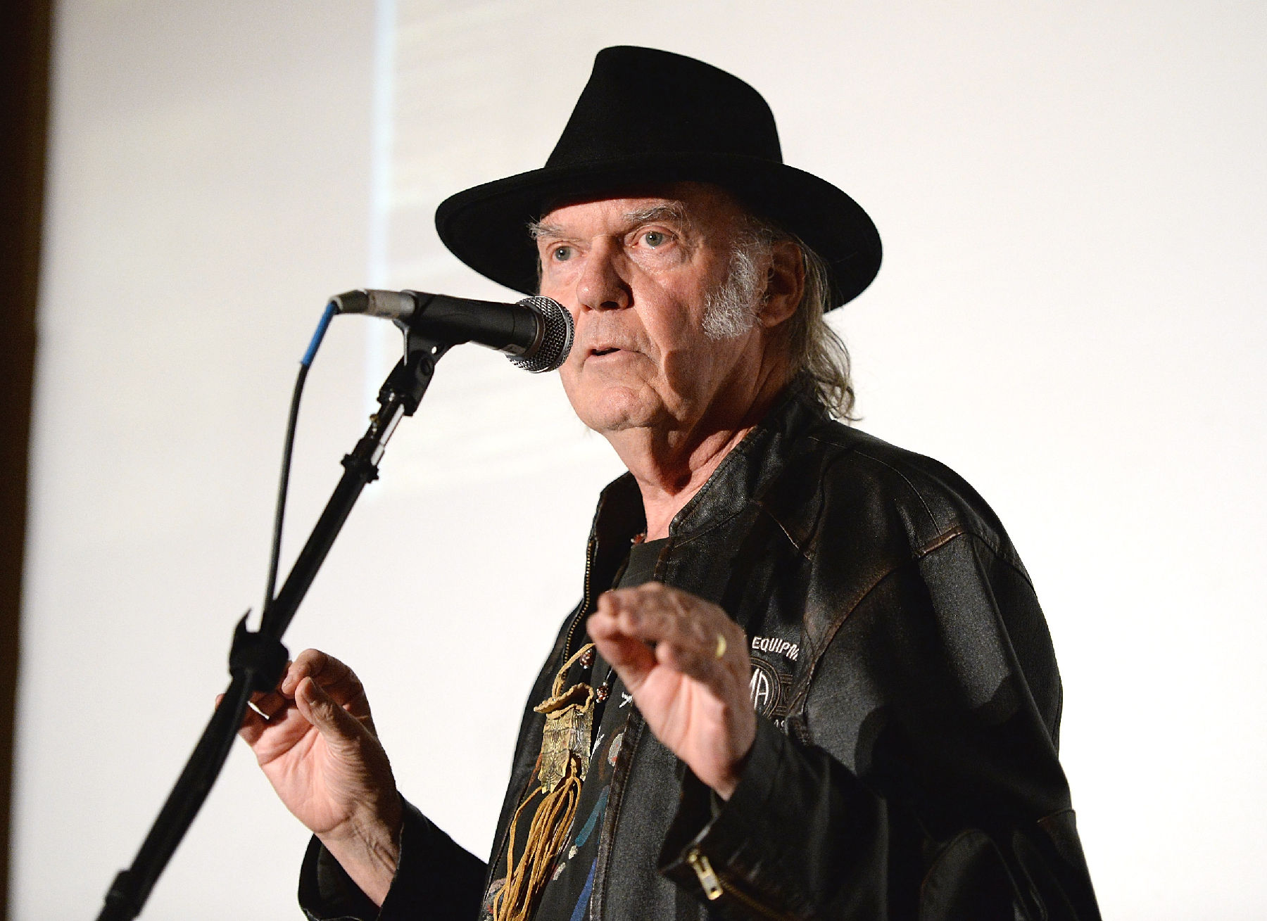 Read Neil Young's Full, Epic Speech From Grammy Honors Ceremony