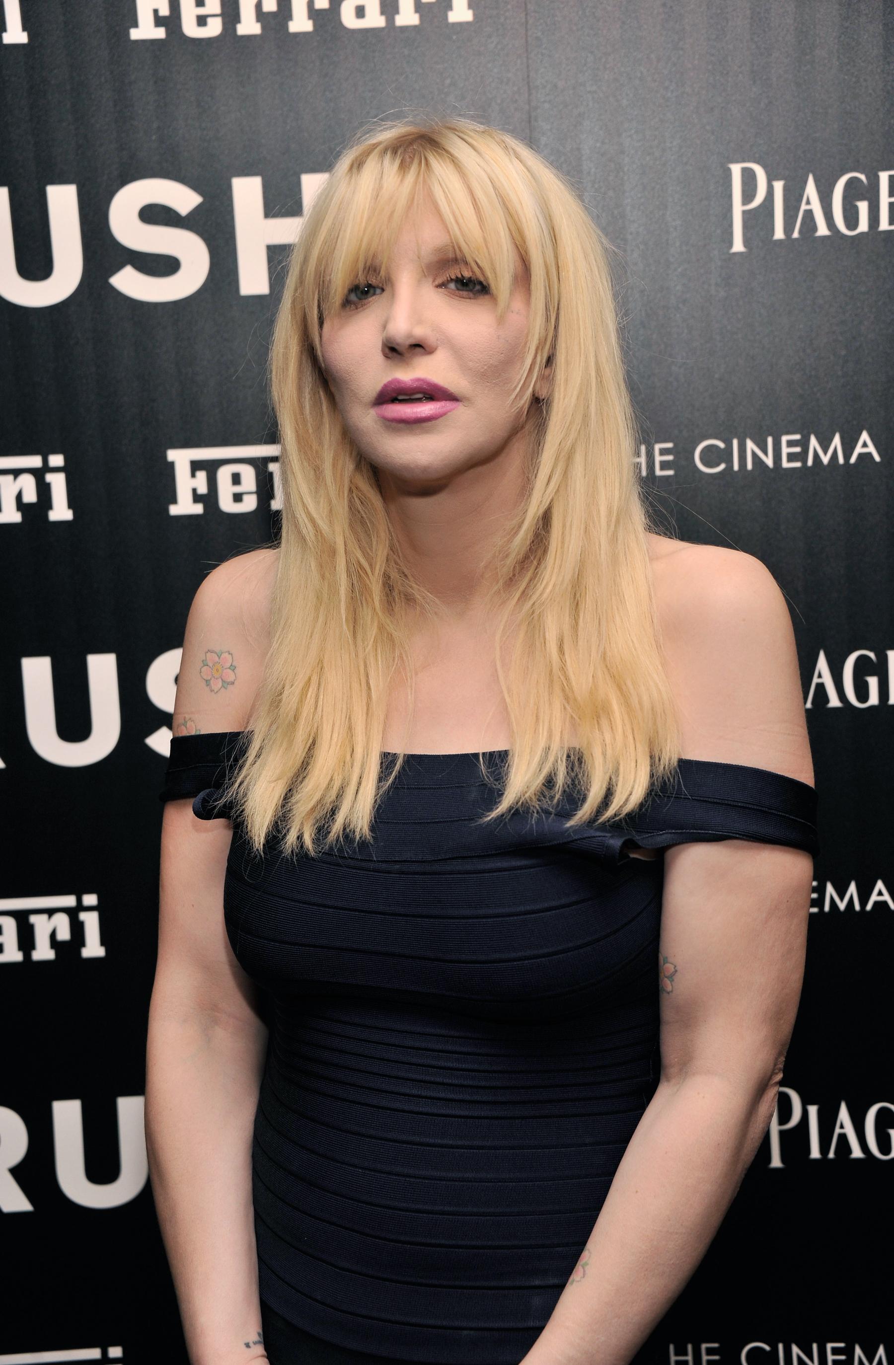 Courtney Love Cries in Court Over Mishandling of Kurt Cobain's Memory