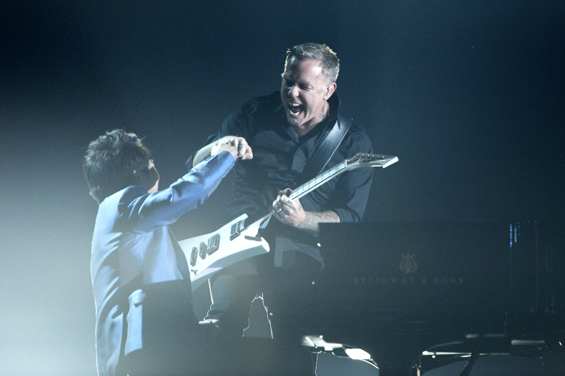 Metallica and Lang Lang Become 'One' at the Grammys