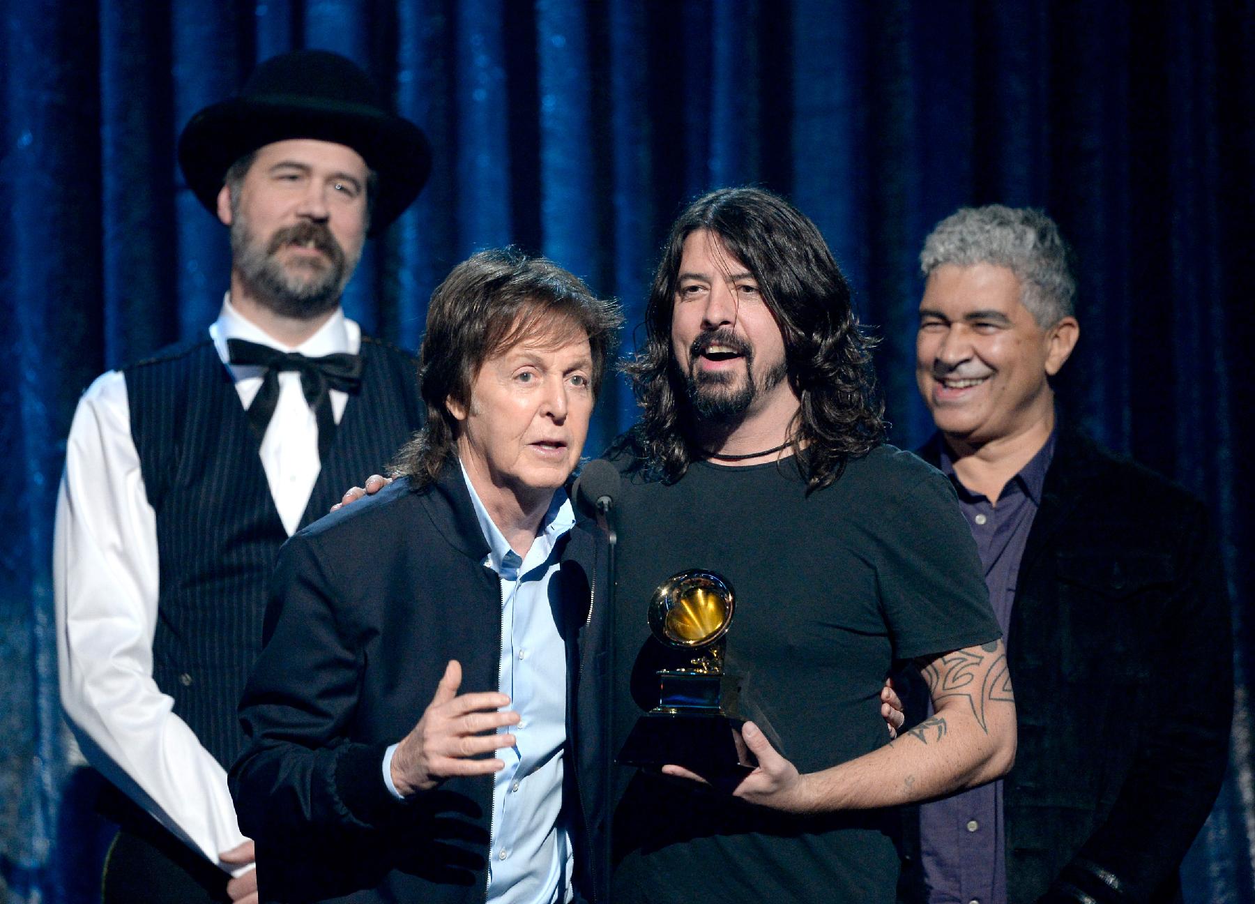 Paul McCartney Recalls Magic of Nirvana Team-Up Backstage at Grammys