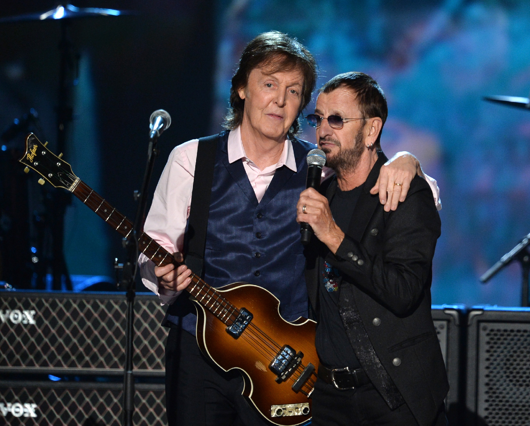 Paul McCartney Ringo Starr The Night That Changed America A GRAMMY Salute To Beatles