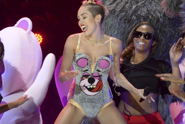 It's Miley, Bitch: The Tongue That Licked the World