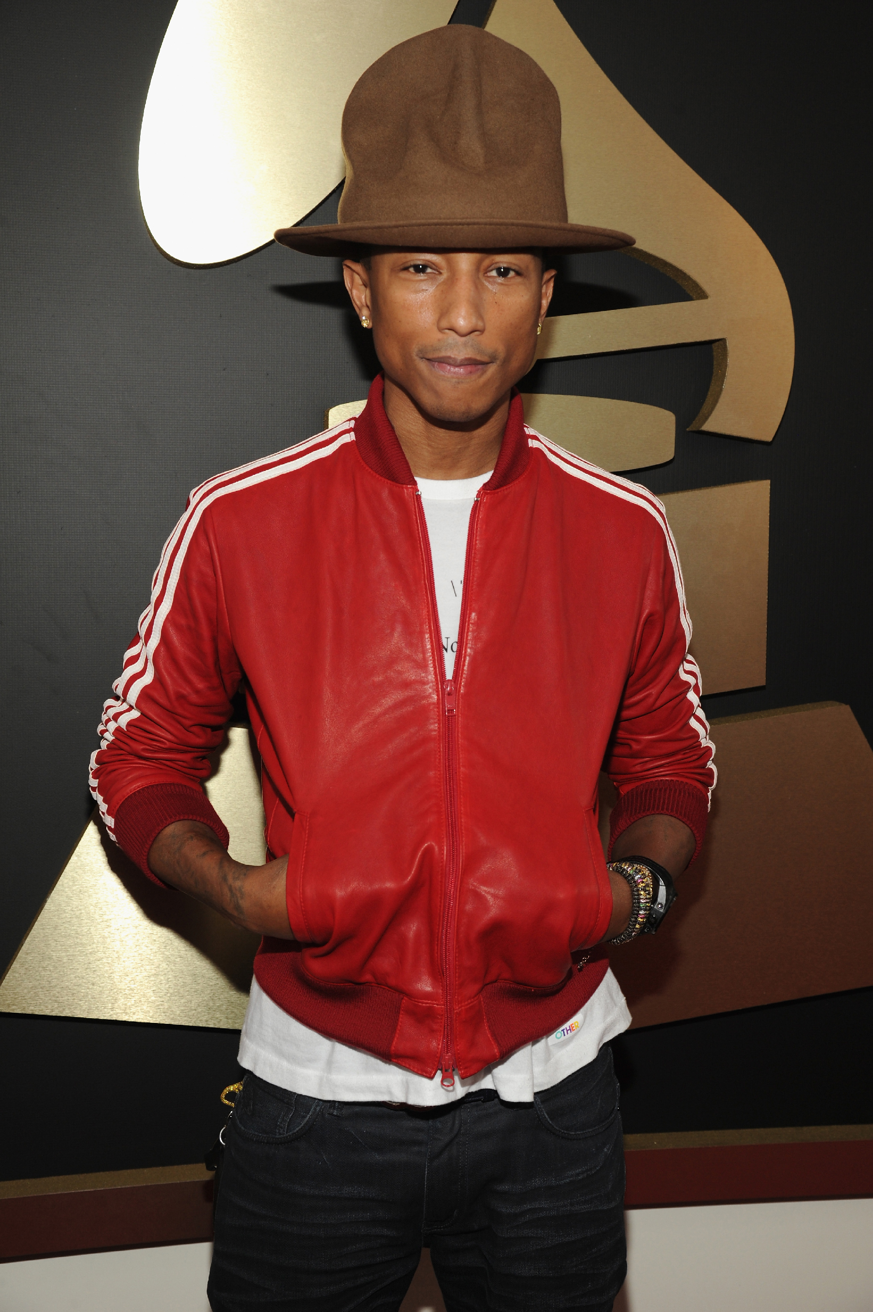 Pharrell Williams Has Put the Hat He Wore to the Grammys on eBay ... e520b2f9c
