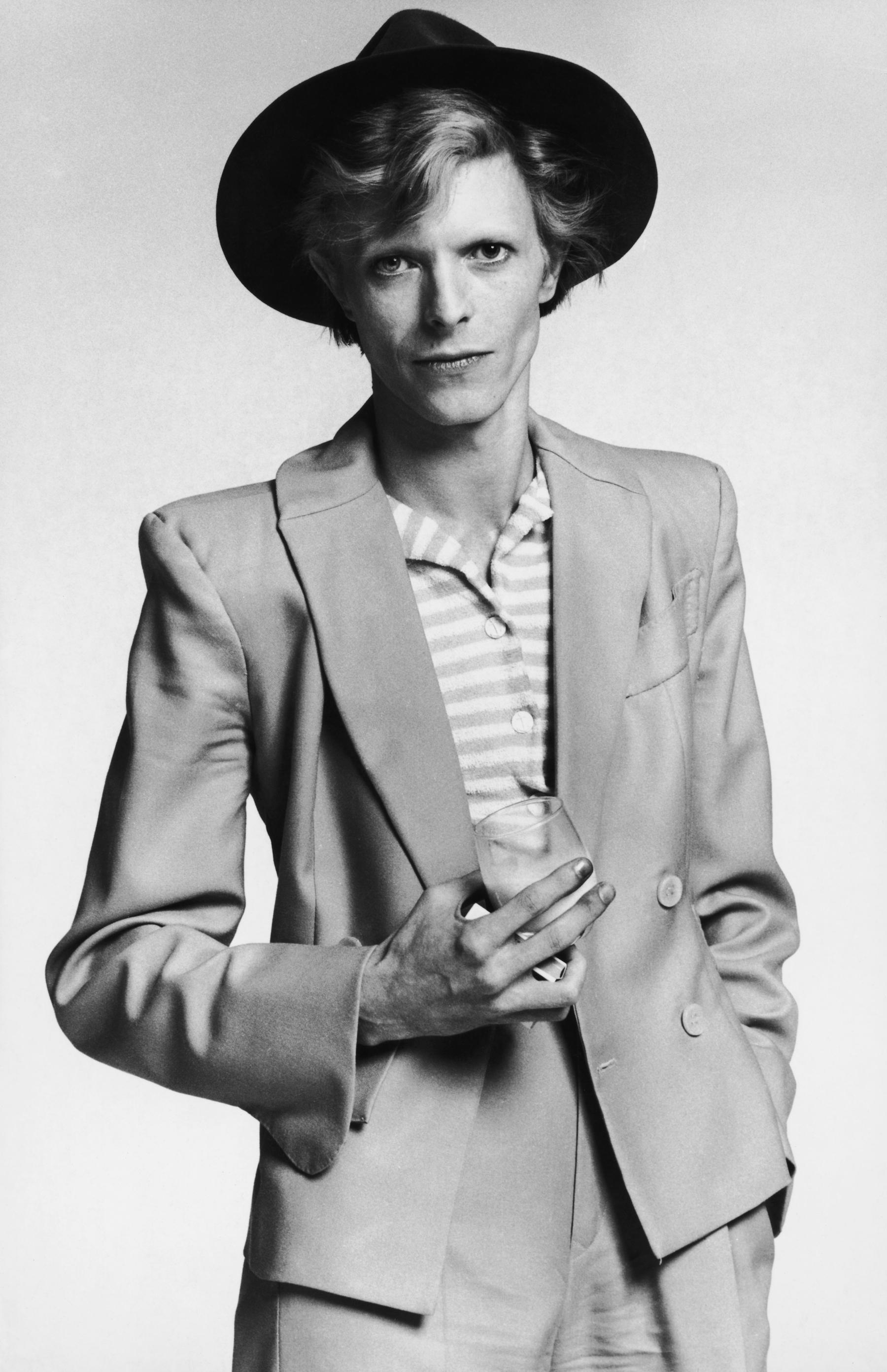 Beat Godfather Meets Glitter Mainman: William Burroughs Interviews David Bowie