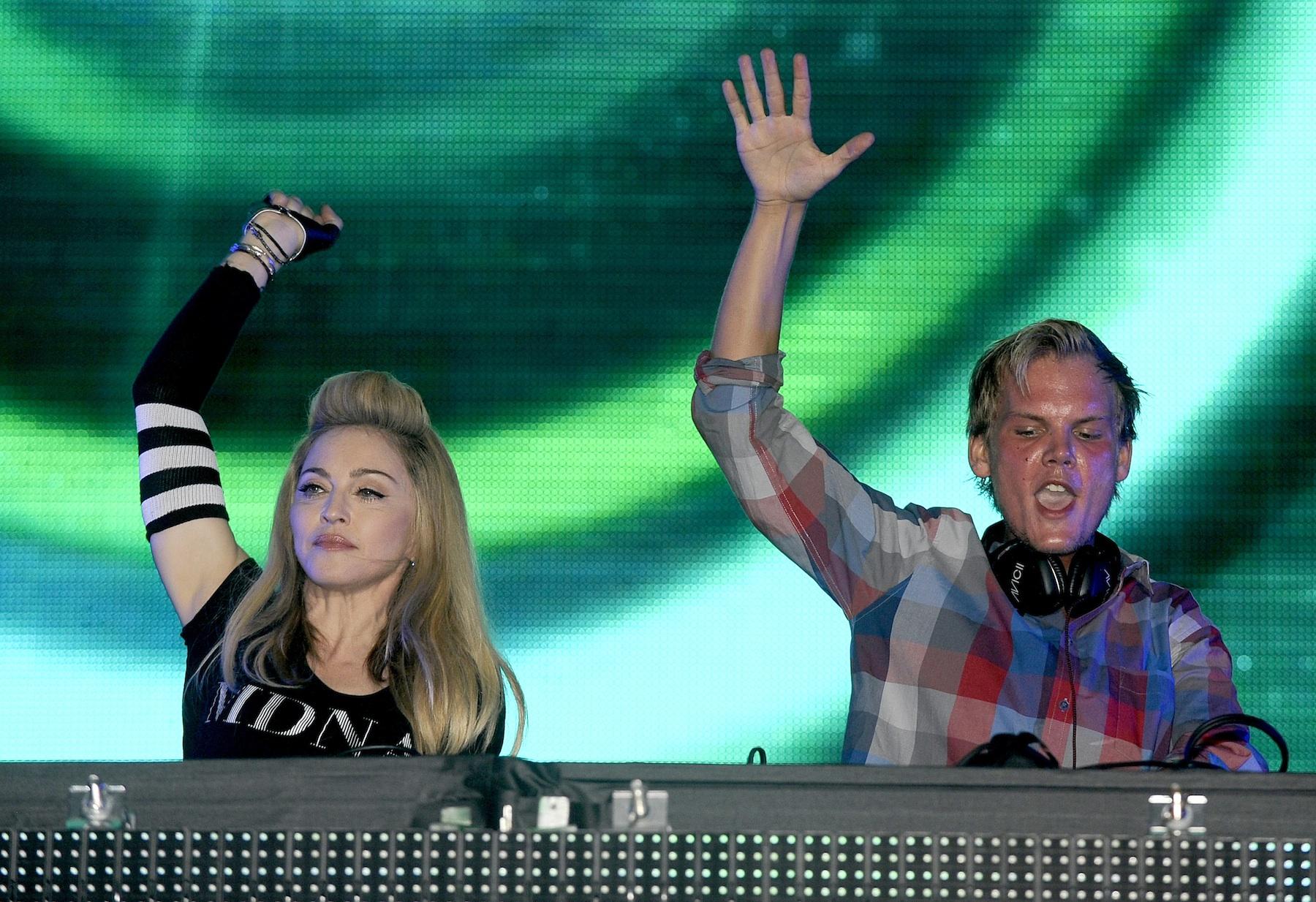 Madonna Announces Collaboration With Avicii