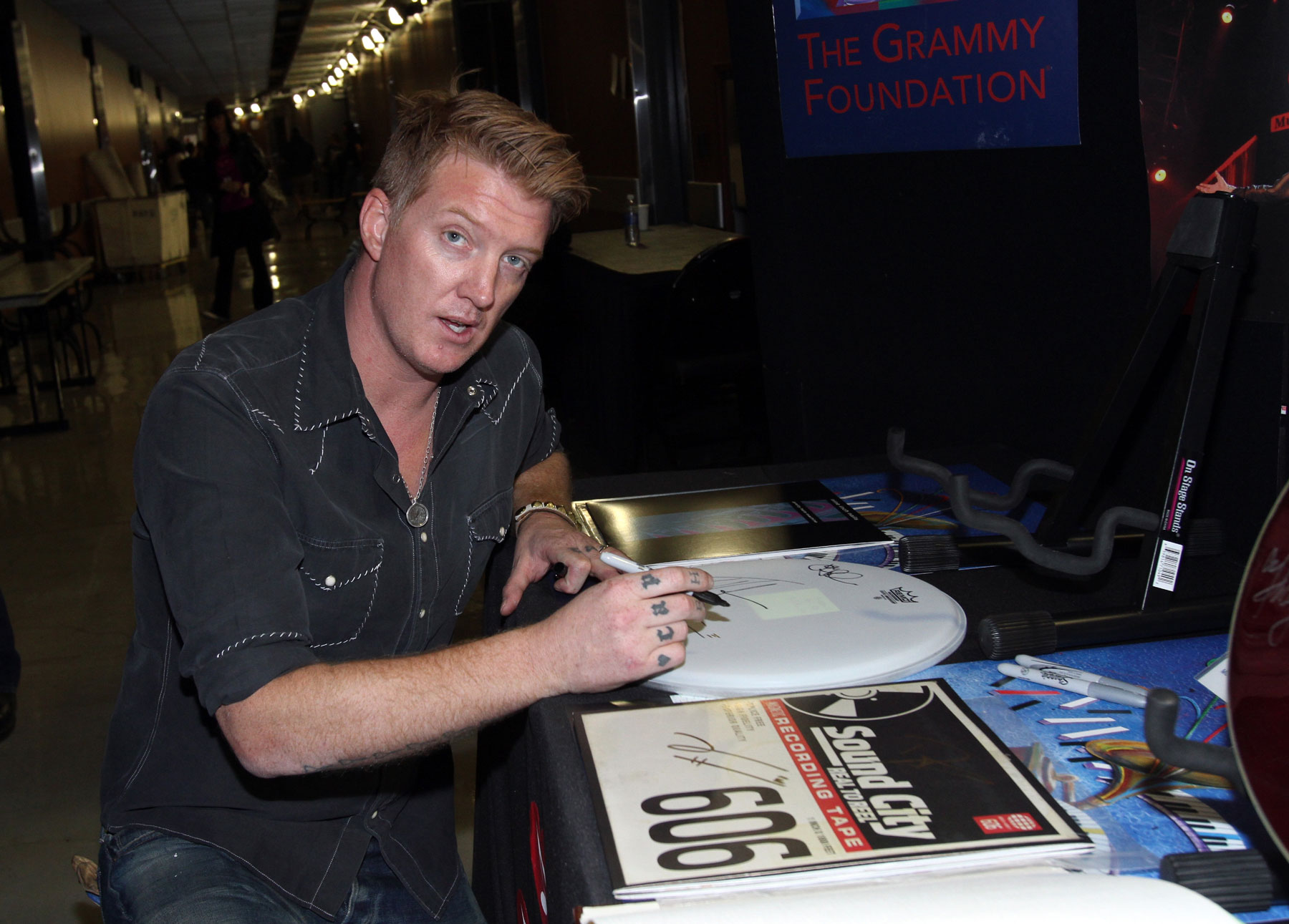 Josh Homme on 'F–k the Grammys' Comment: 'I Was Really Drunk'