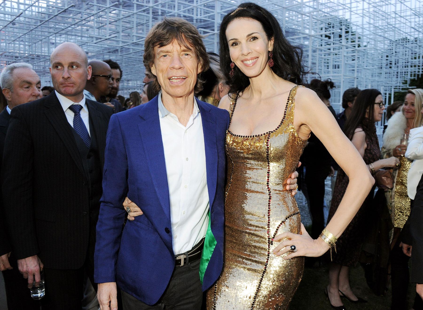 Mick Jagger And L Wren Scott