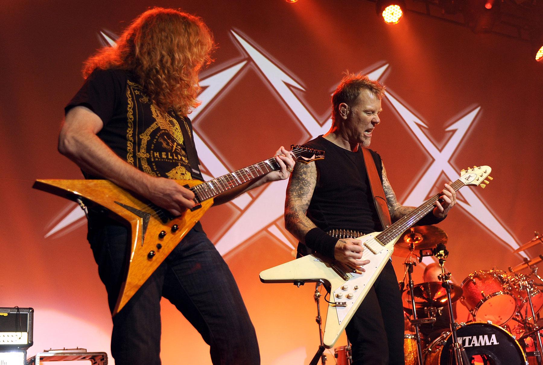 Metallica Recall Nerve-Racking First Show