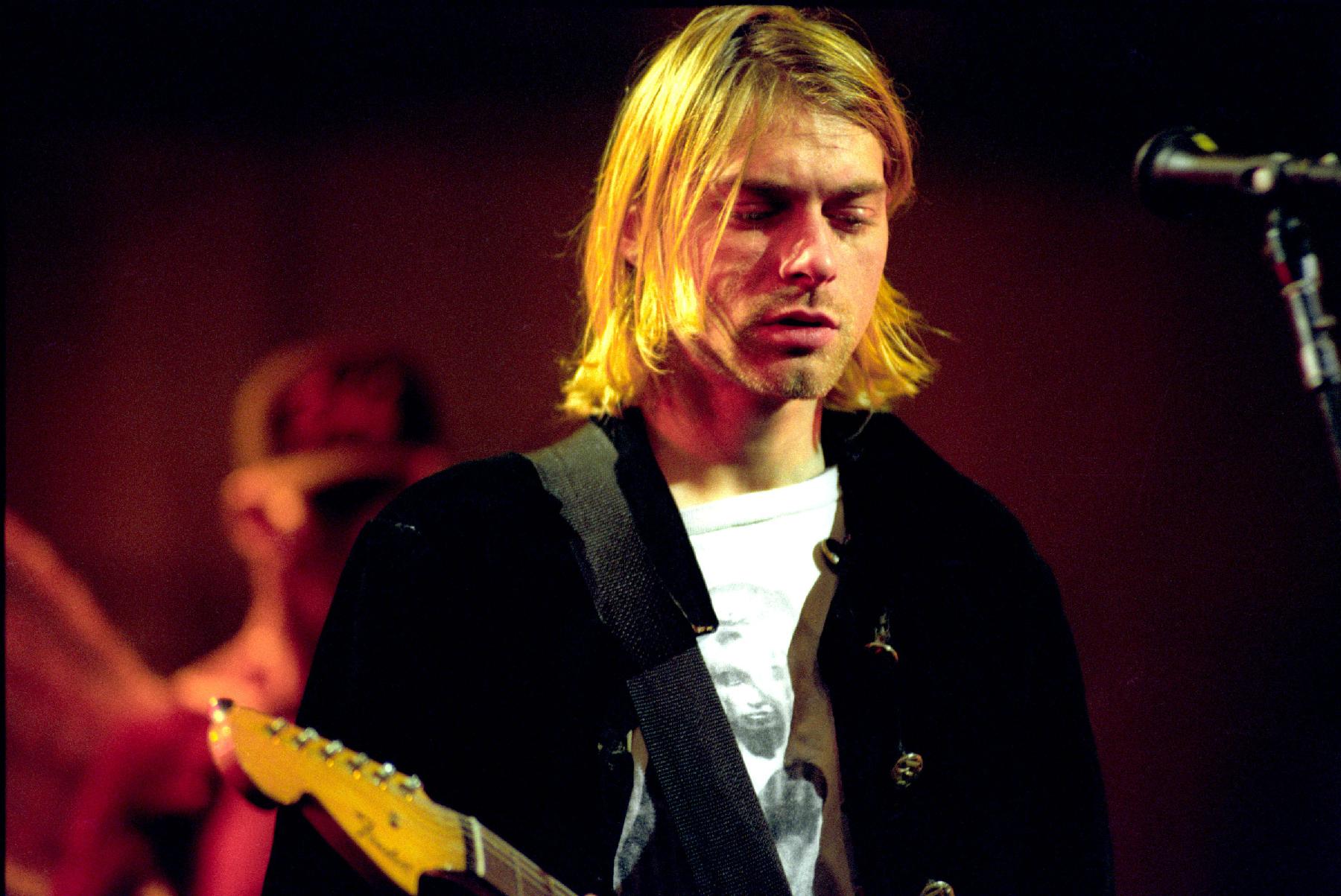 Kurt Cobain Getting His Own Comic Book