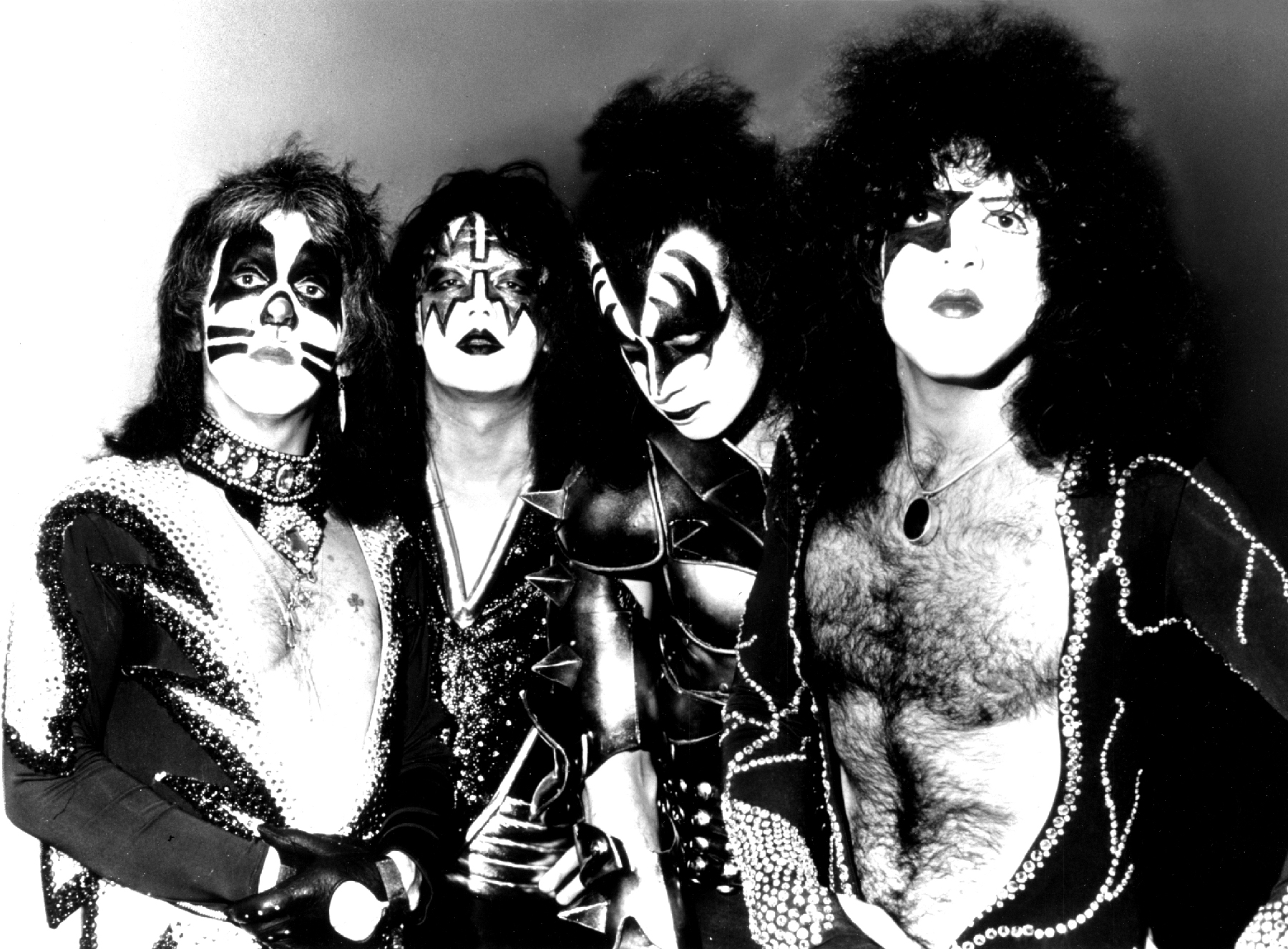 Kiss Gene Simmons, Peter Criss, Paul Stanley, Ace Frehley