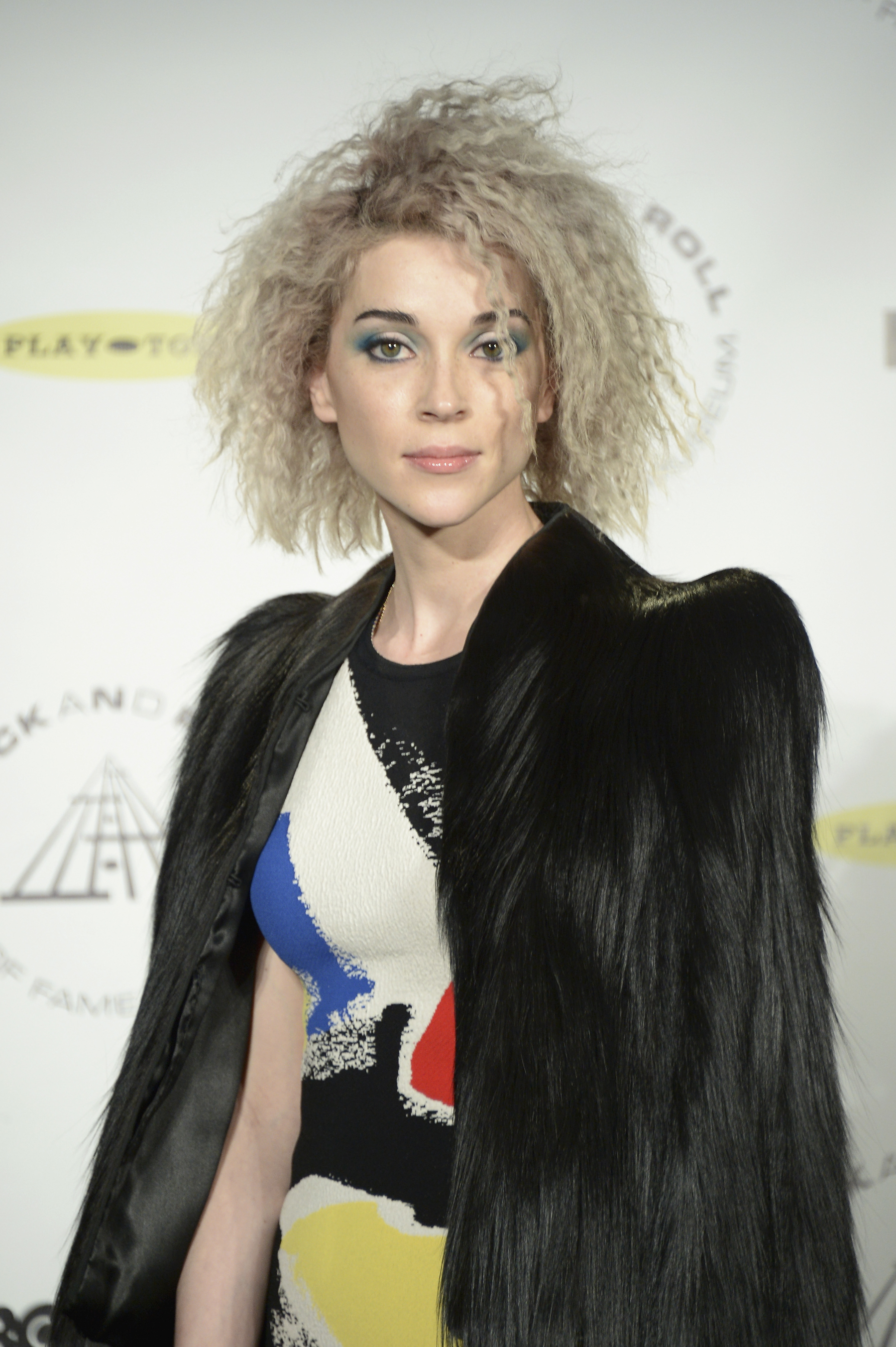 Nirvana's Rock Hall Performance Had St. Vincent Profanely Excited