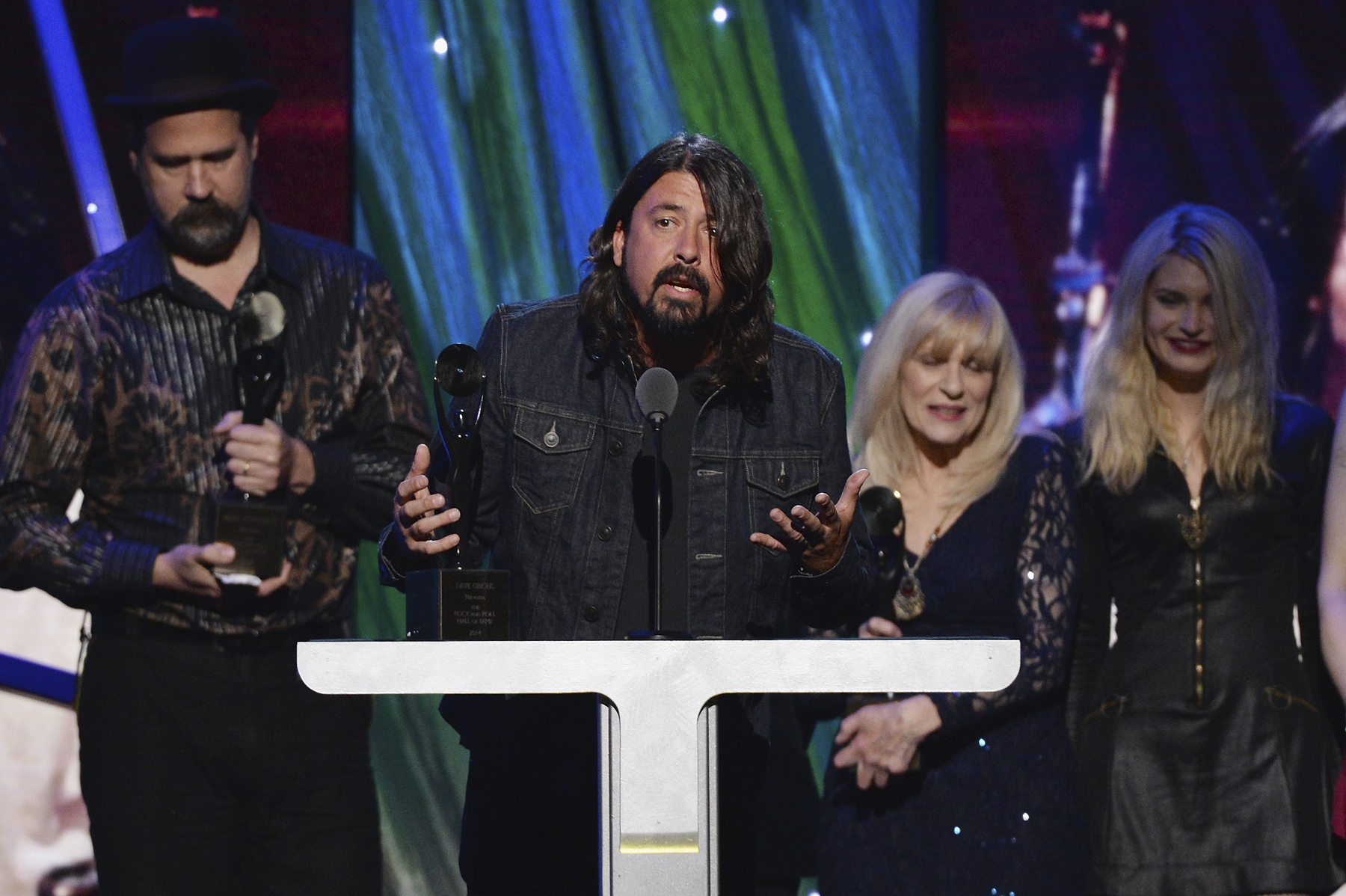 Read Nirvana's Rock and Roll Hall of Fame Acceptance Speech
