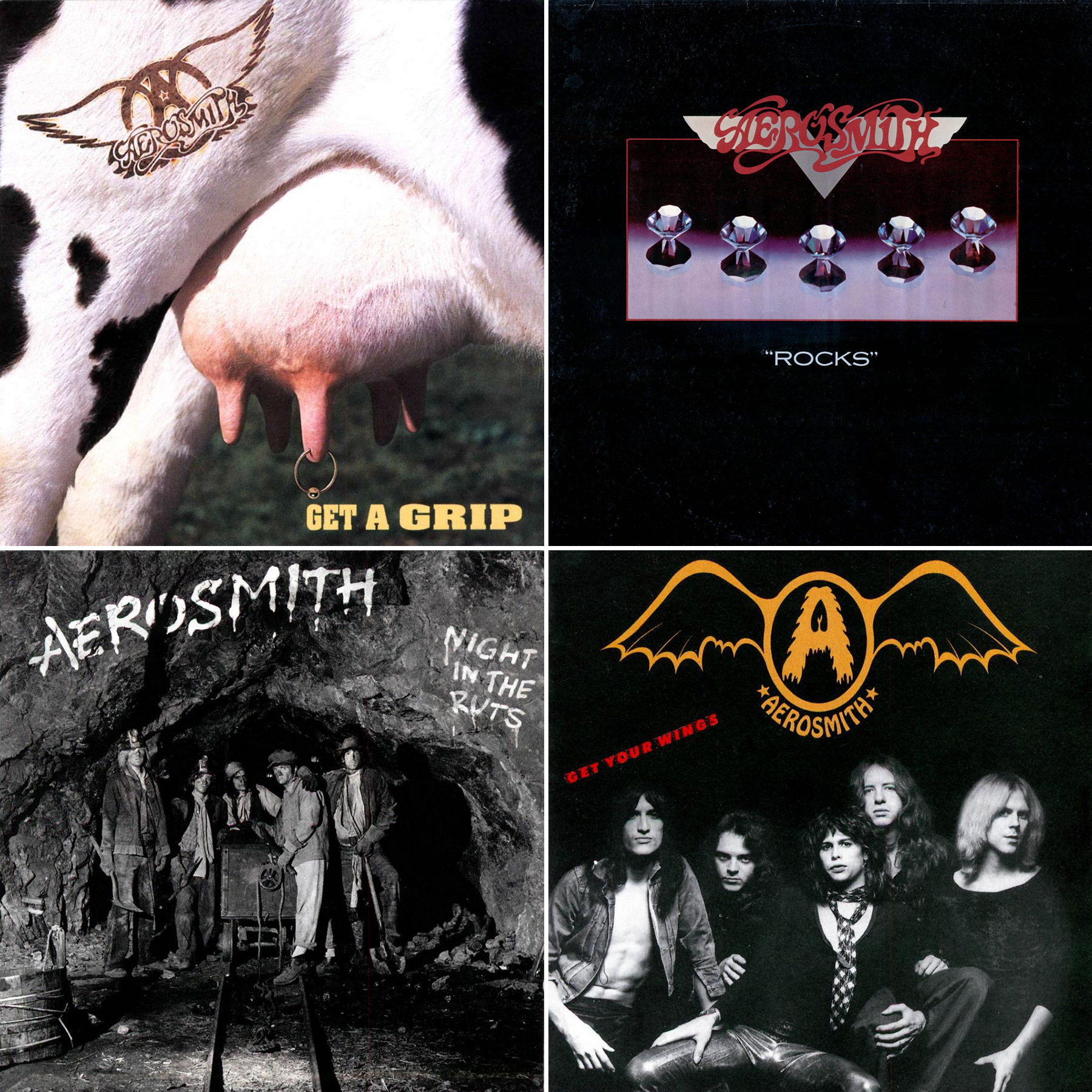 Weekend Rock Question: What's the Best Aerosmith Album?