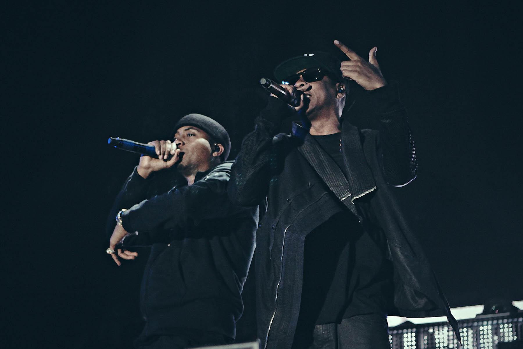 Jay Z, Gwen Stefani, Beyonce Cameo on All-Star Saturday at Coachella
