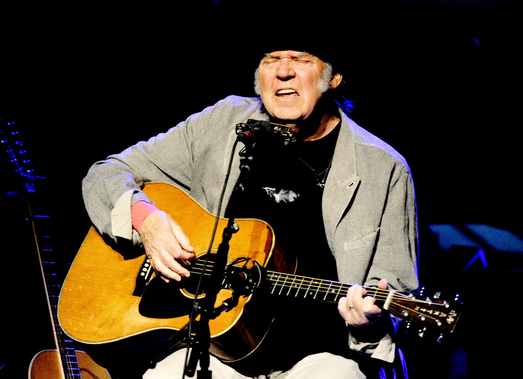 Neil Young's New Covers Album Available Right Now: Surprise!