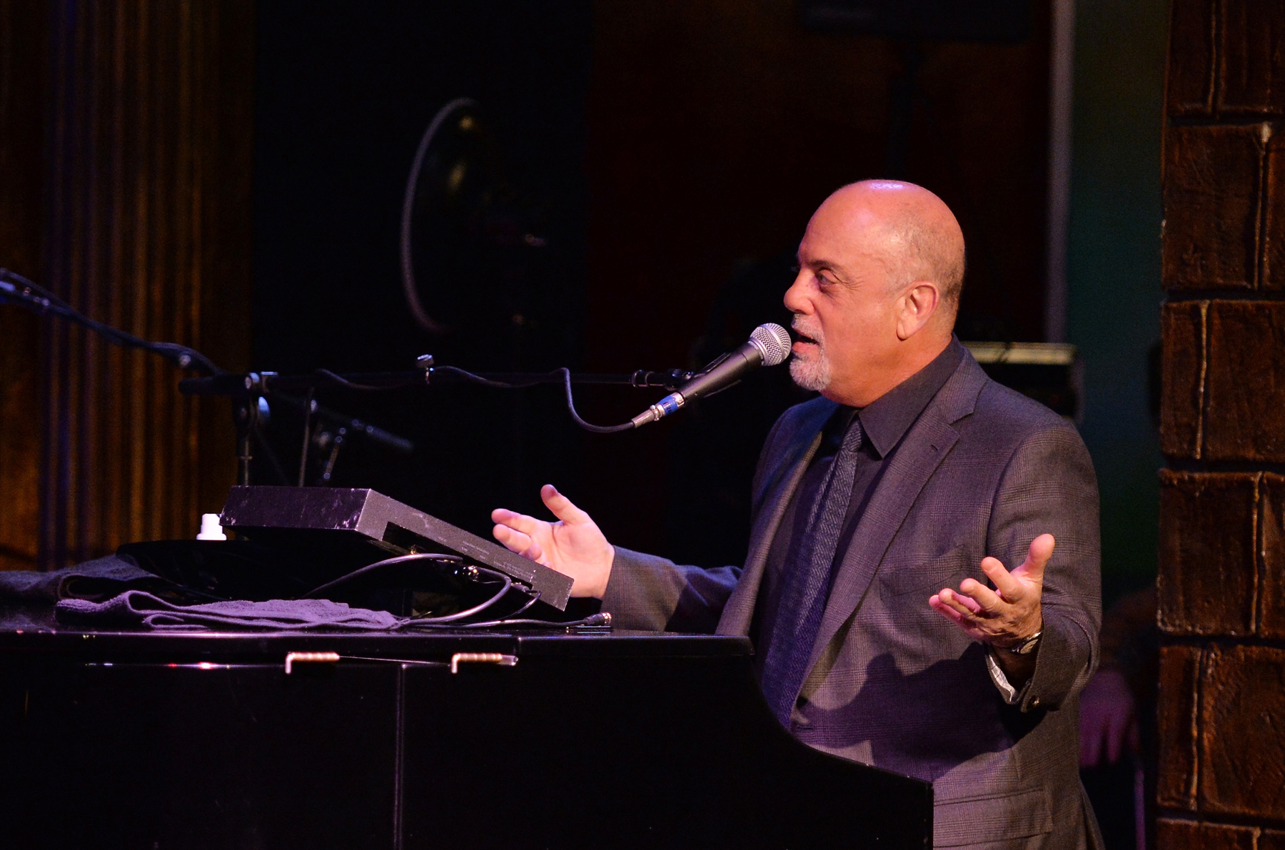 9 Things We Learned About Billy Joel At Howard Sterns Town Hall