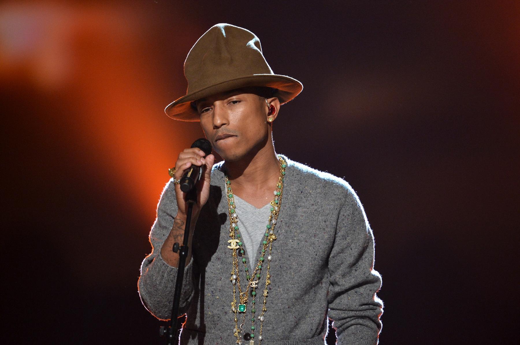 Hear Pharrell's Optimistic 'Girl' Bonus Track 'Smile'