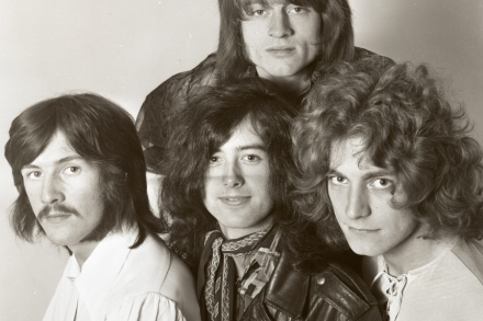 Listen to Led Zeppelin's Spartan Rough Mix of 'Whole Lotta Love'