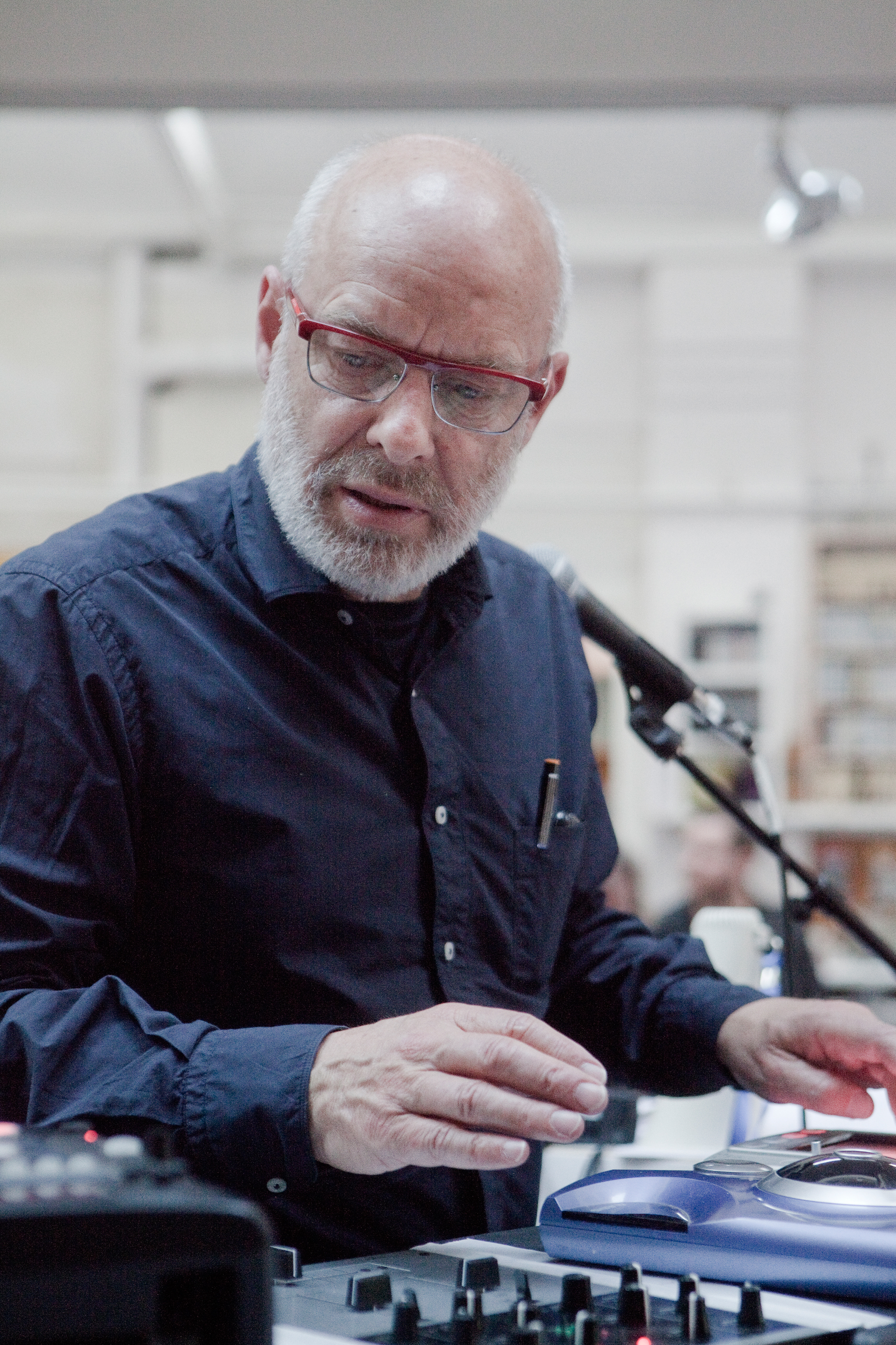 Brian Eno: Inside the Noisy Lab of One of Rock's Greatest Producers