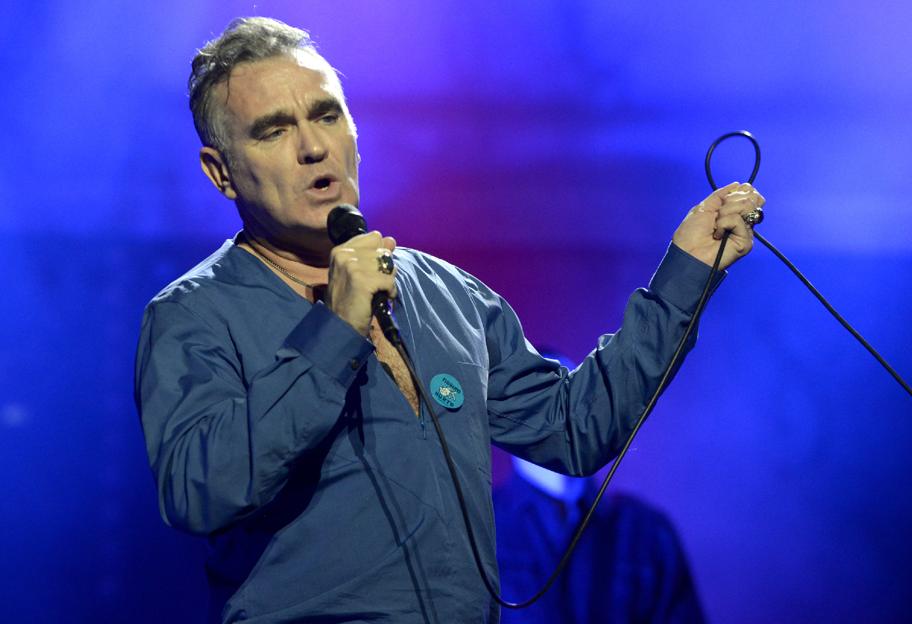 Morrissey's Tour Launch Features New Songs, Stage-Invading Fans