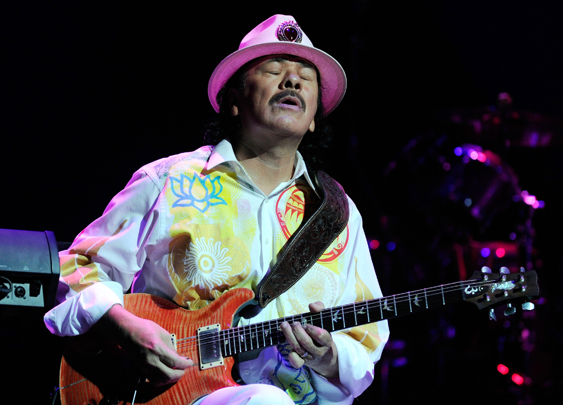 Carlos Santana on Drugs, Healing and His Message for Obama