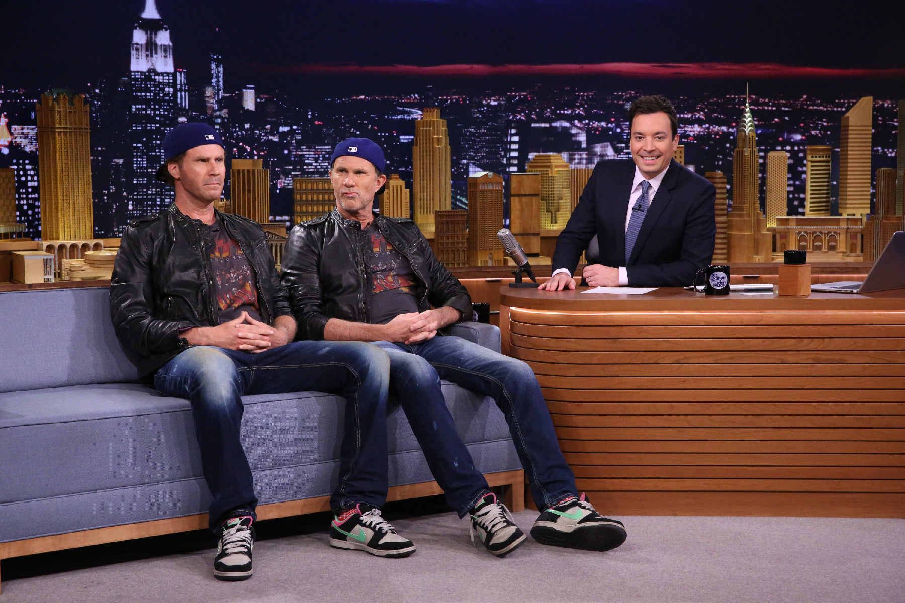 Chili Peppers Surprise Will Ferrell, Chad Smith Drum-Off on 'Fallon'