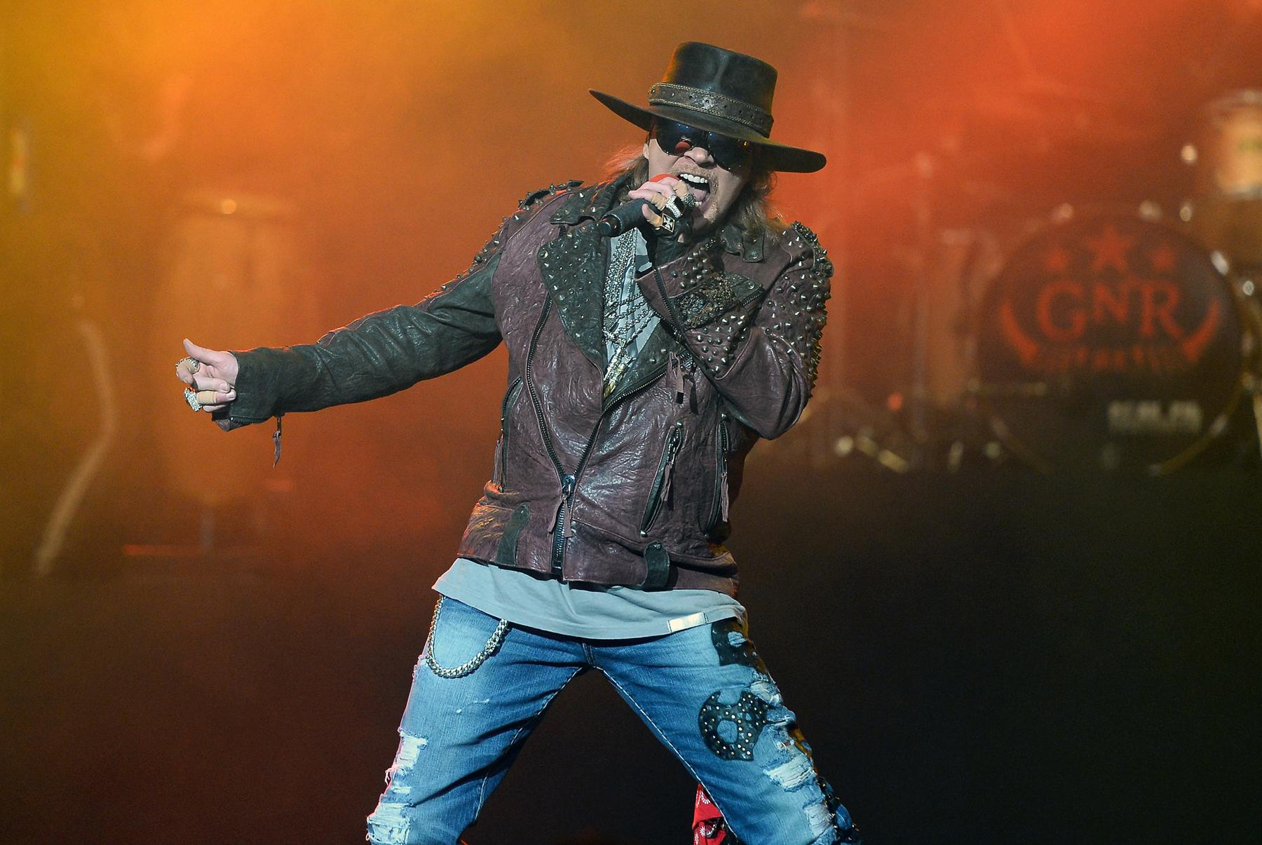 Axl Rose Responds to List Calling Him 'World's Greatest Singer'