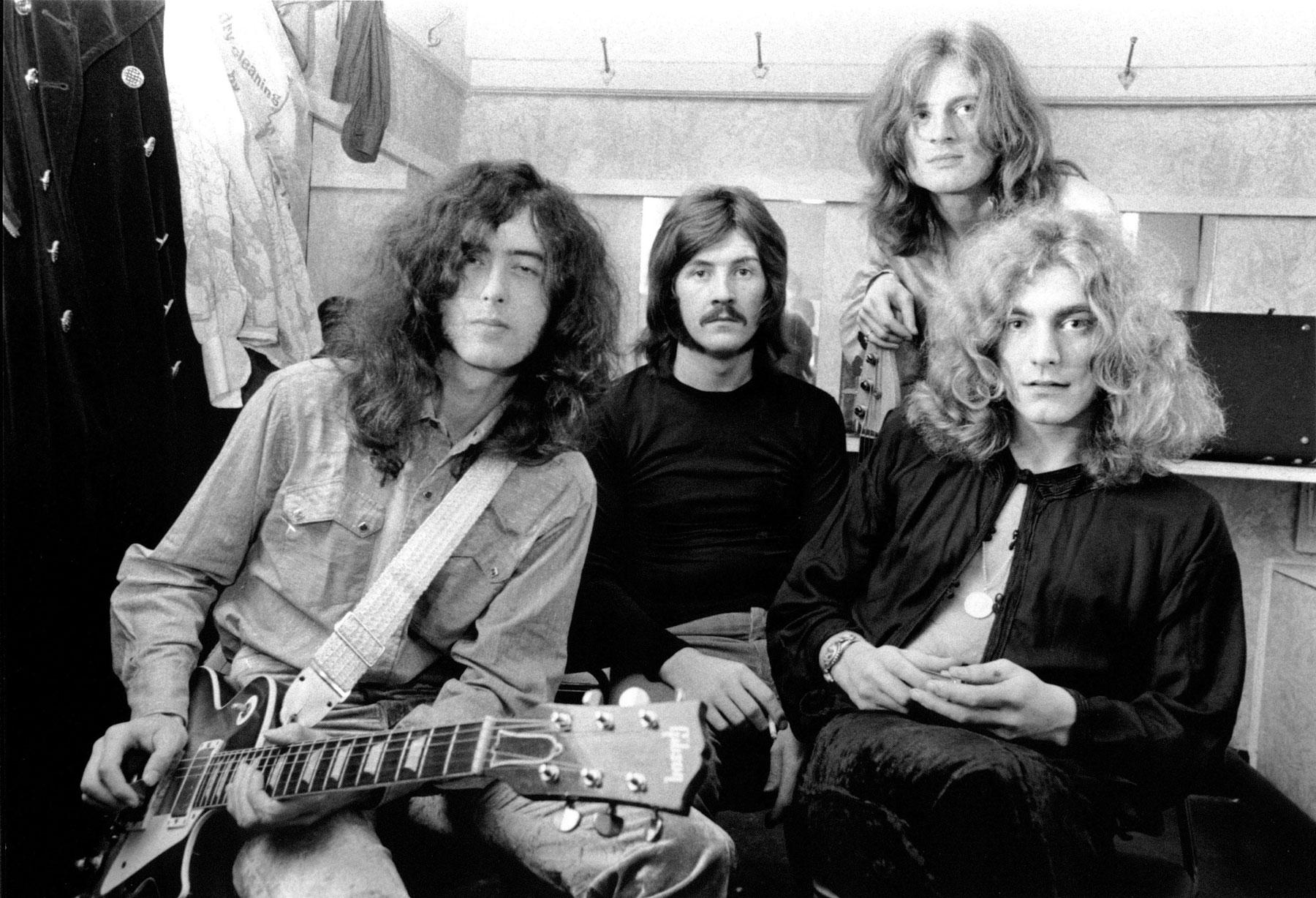 Listen to Led Zeppelin's Unreleased Instrumental 'La La'