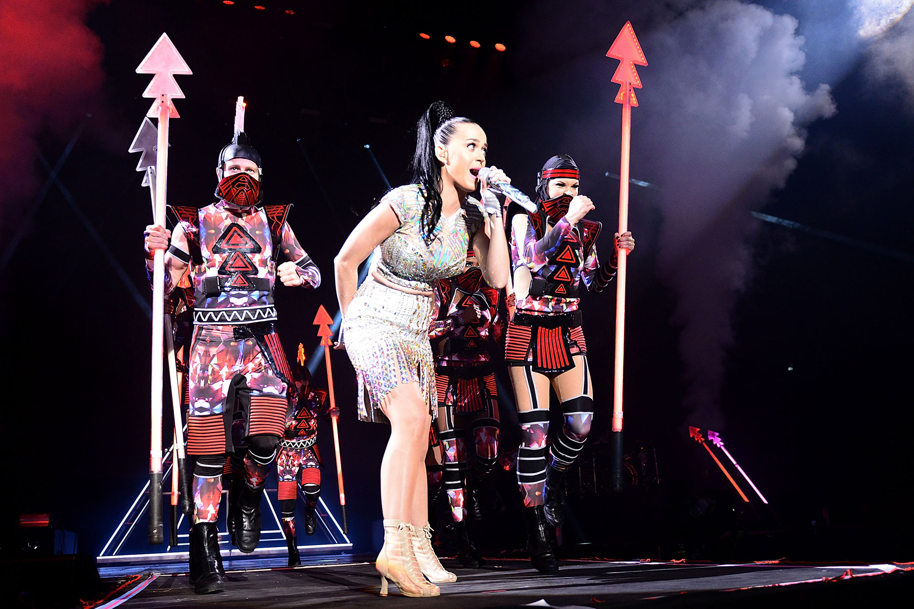 Katy Perry Brings Eye-Popping 'Prism' Spectacle to London
