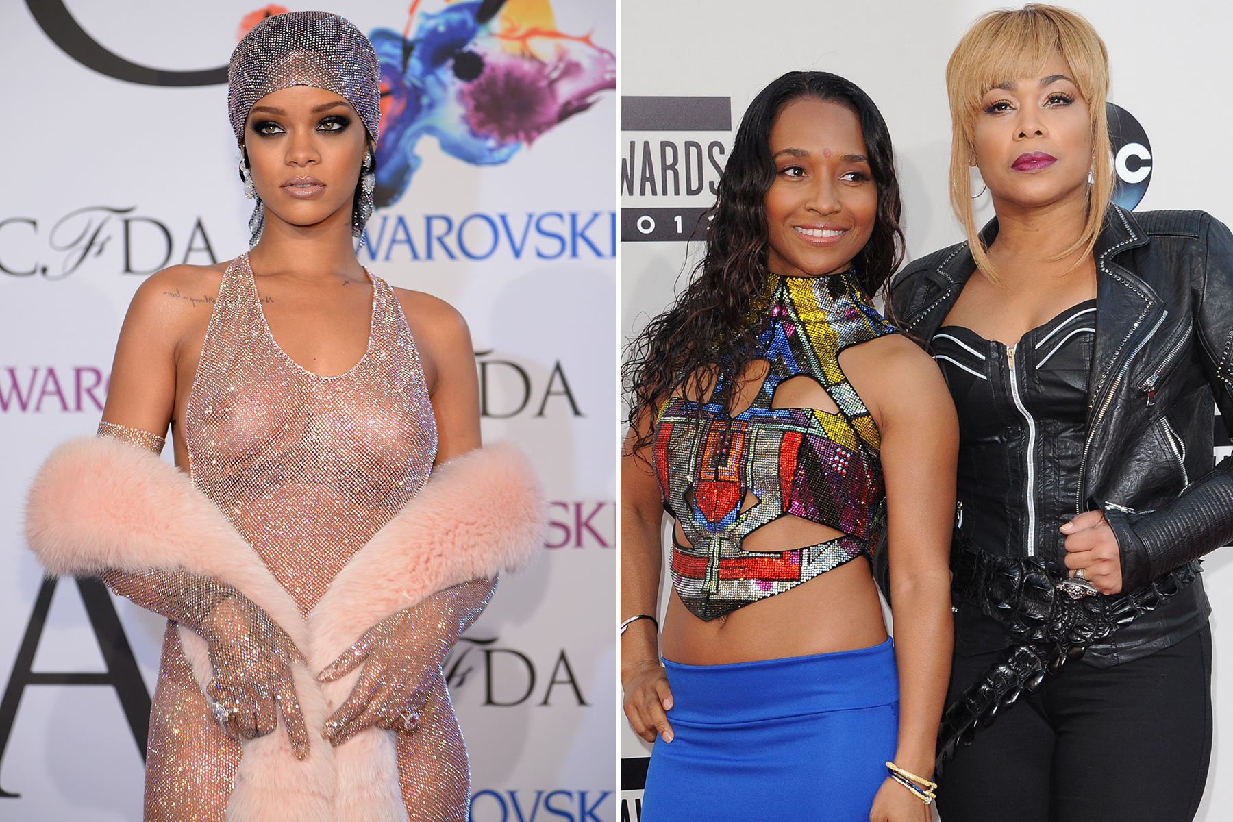 Rihanna Posts Topless Photo of TLC After They Chastise Her Nudity