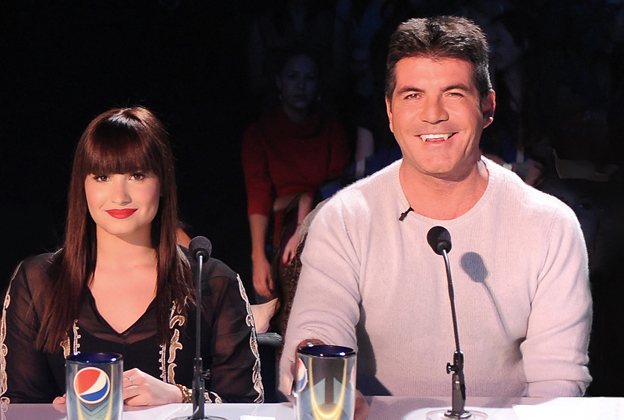 X Factor' Goes Live With Bleeped Simon Cowell, Underdressed