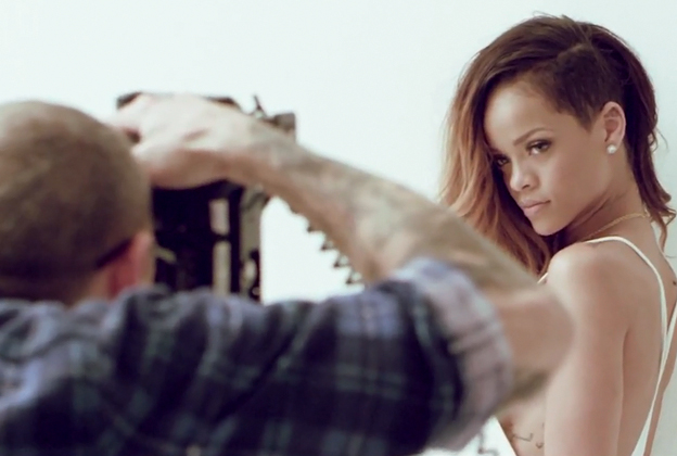 Rihanna's Rolling Stone Cover Shoot: Behind the Scenes