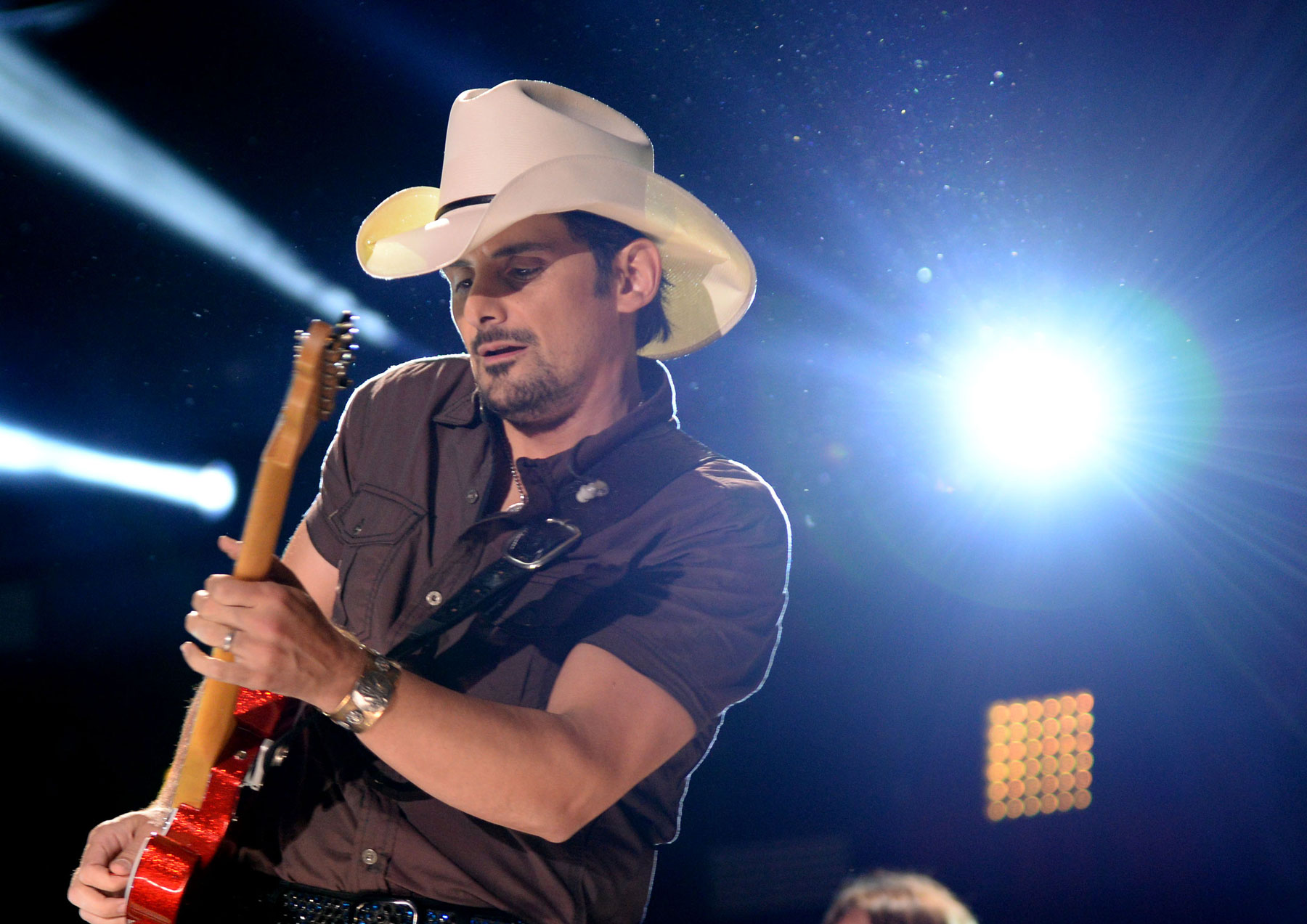 Brad Paisley Talks Country and Rock Heroes