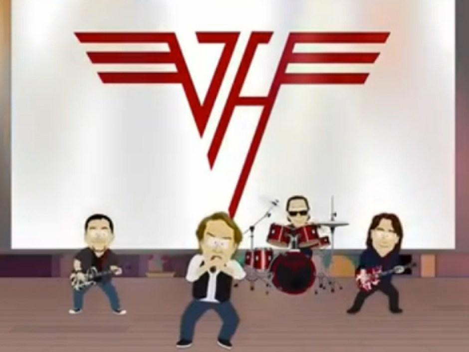 Van Halen Symbolize World Peace in 'South Park' Episode