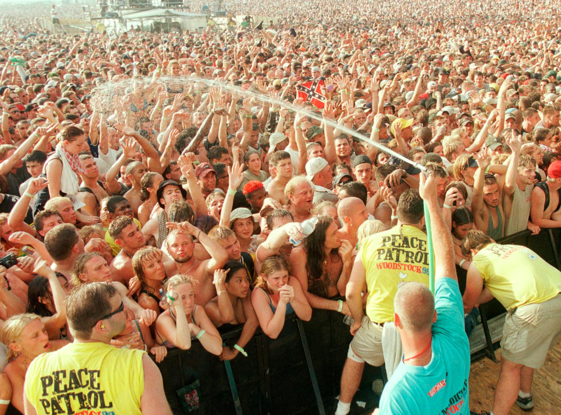Woodstock 99: Rage Against the Latrine - Rolling Stone